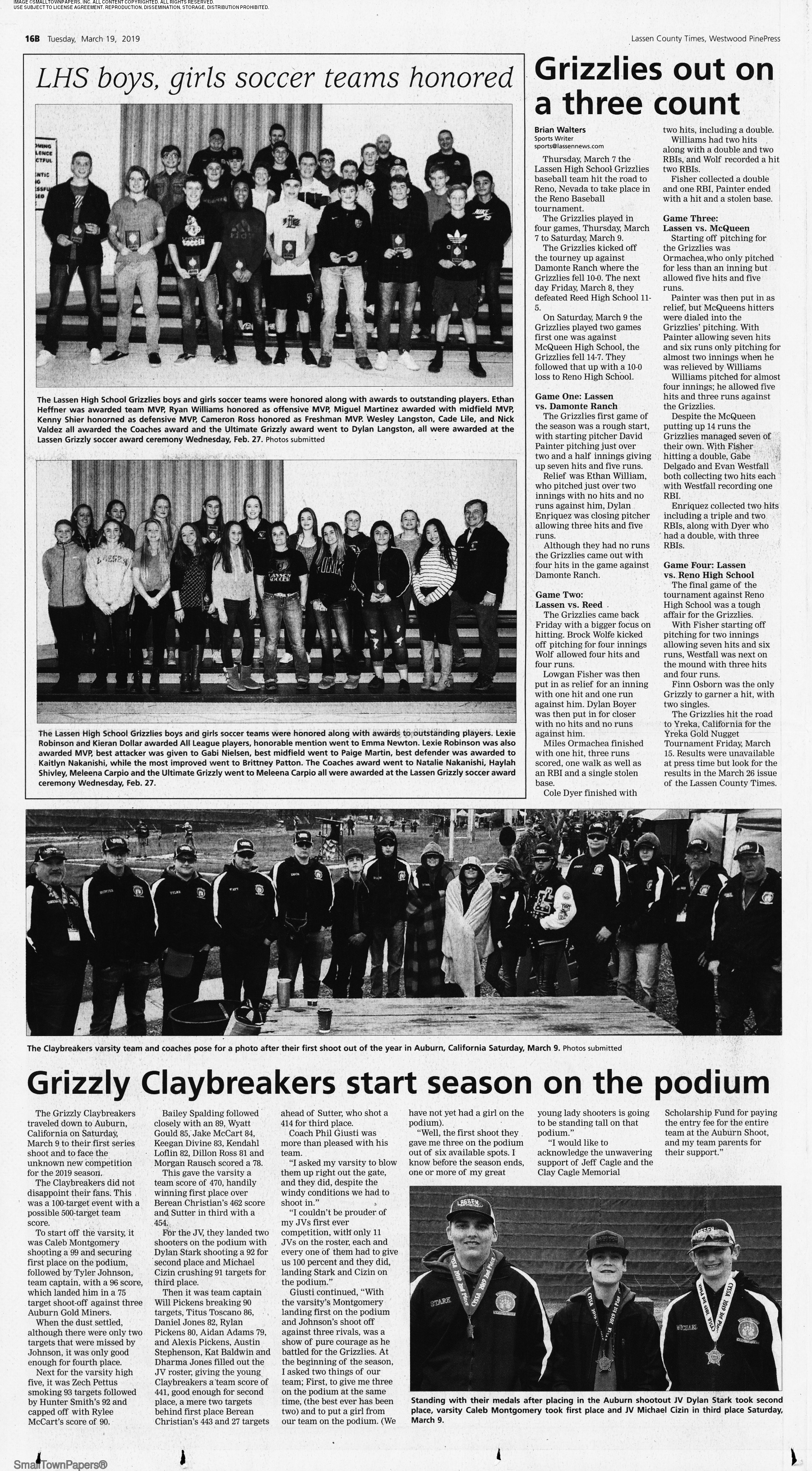 Lassen County Times March 19, 2019: Page 28